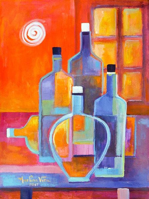Cubist Wine #7