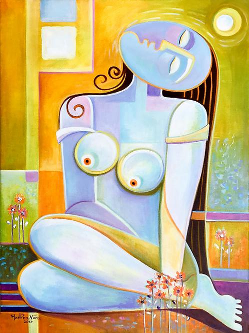Woman at Peace