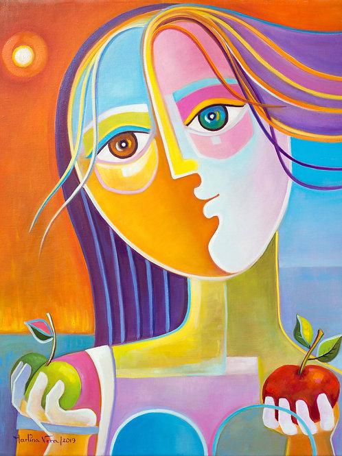 Eva y sus dos Manzanas