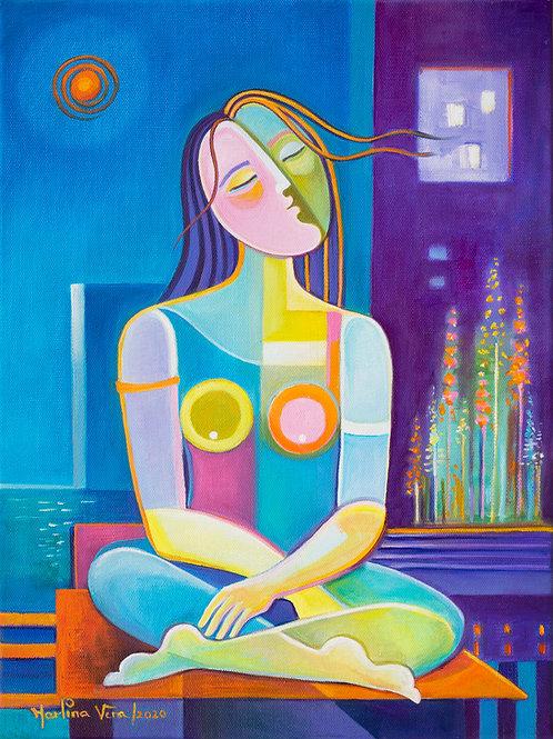 Woman at Peace #6