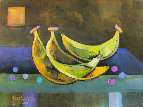 Cubist Fruits #2