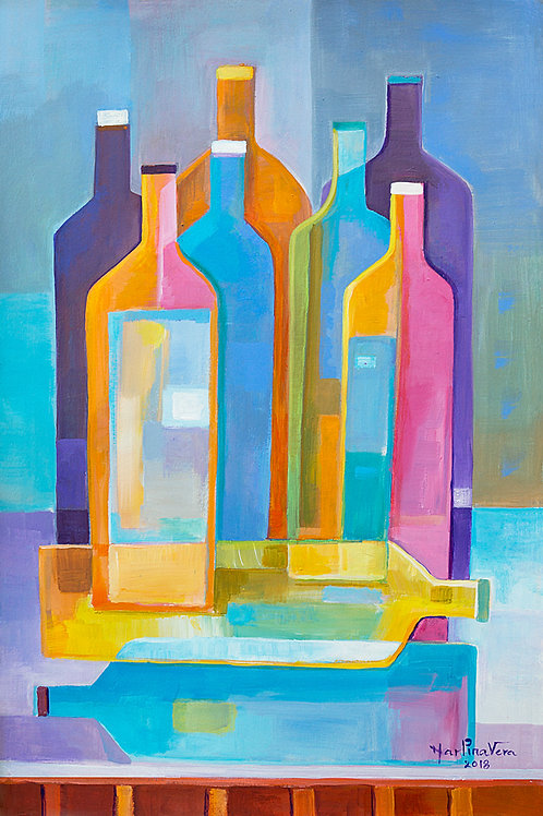 Cubist Wine #10