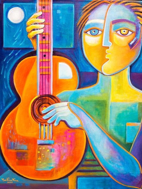 Moonlight Guitarist
