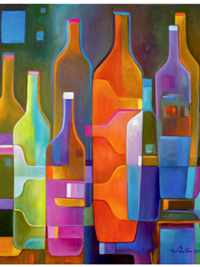 Cubist Wine #4