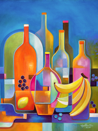 Wine and Fruits #3