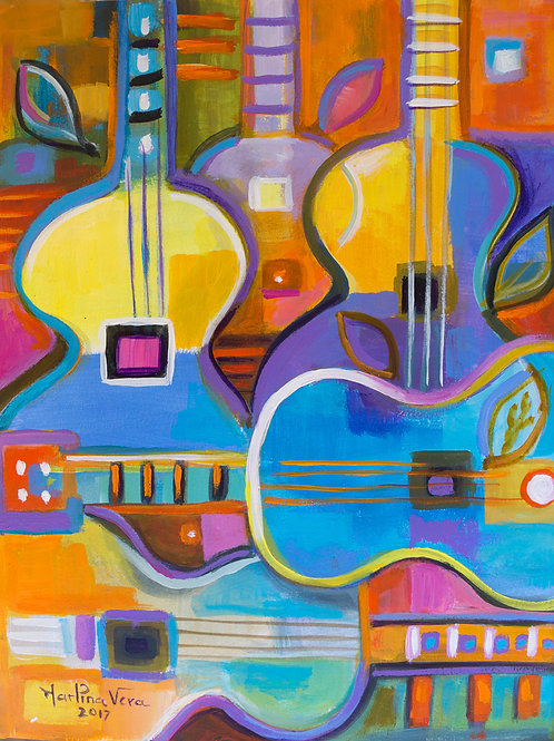 Abstract Guitars #2