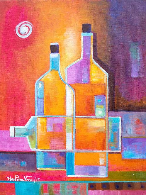 Cubist Wine # 9