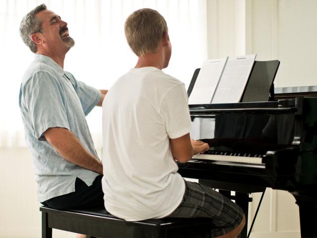 Piano Pianissimo Padre e hijo