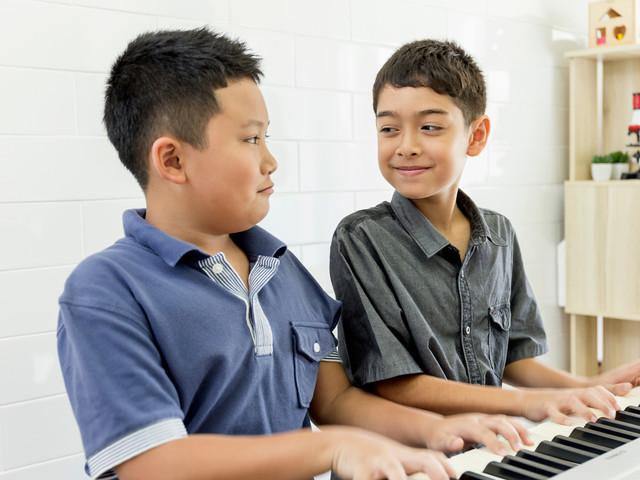 La amistad también es el piano