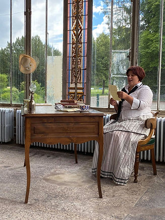 Les confidences des Renoir à l'heure du thé, à Essoyes_