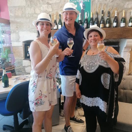 Visite privée de Bar sur Seine pour nos