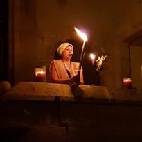 Balade au flambeau dans le Mussy médiéval