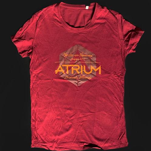 T-Shirt Femme Bordeaux