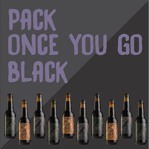 Pack Once You Go Black... (24 bouteilles)