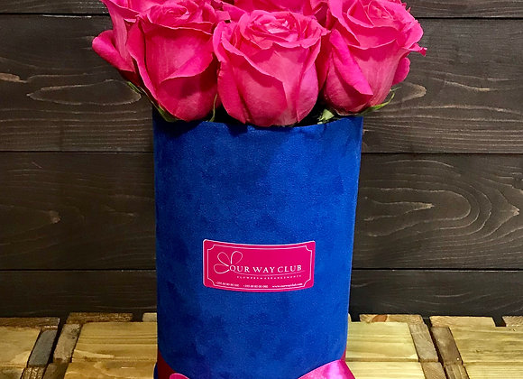 Pink Blue Roses
