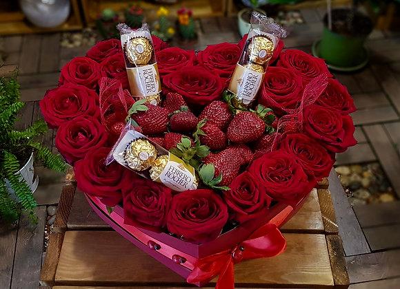 Luleshtrydhe dhe Red Roses