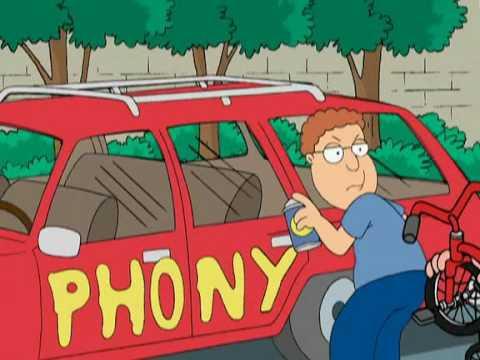 "Family Guy's ""Phony Guy"""
