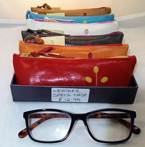 Leather Specs Case