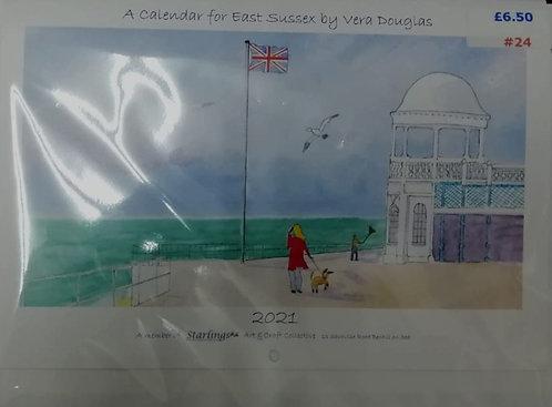 Bexhill 2021 Calendar by Vera Douglas