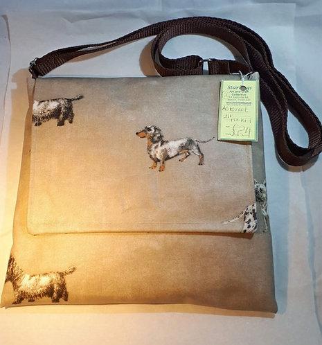 Hand bag - Over the shoulder - Oil cloth