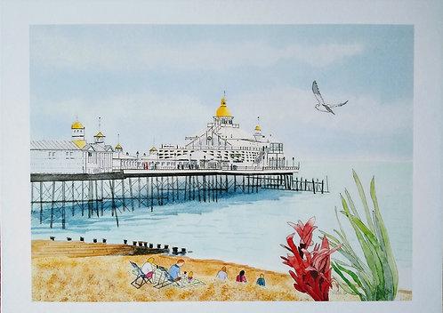 """Eastbourne Pier Print 11""""x14"""""""