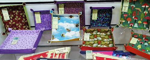 Buntings and Trays