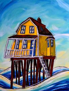 La maison sur pilotis II, 2015