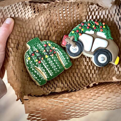 Christmas Jumper & Car Giftset