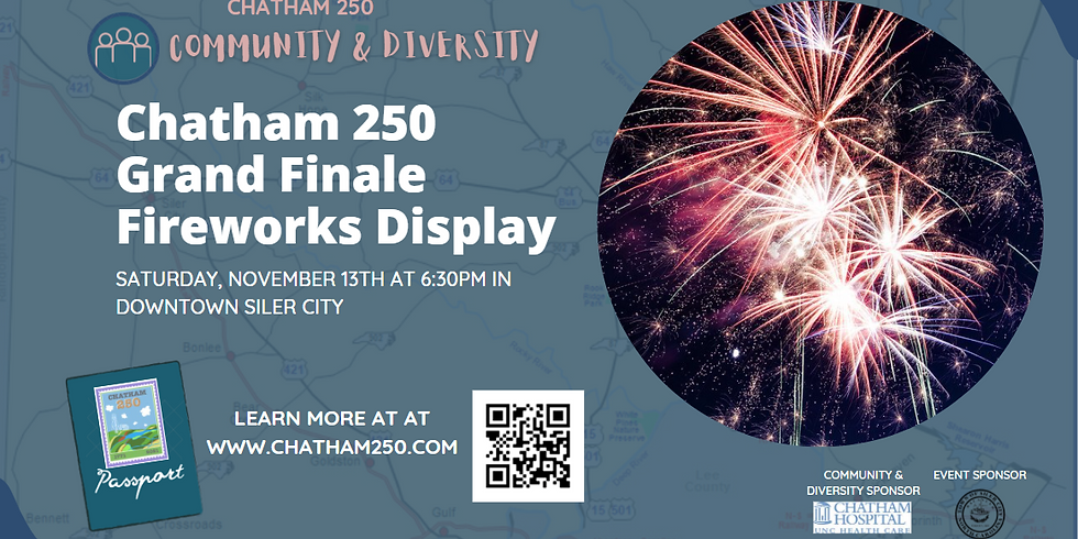 Chatham 250 Grand Finale Fireworks Display