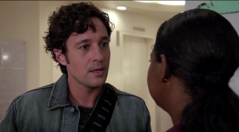 "Thomas Nicholas and Octavia Spencer in ""Red Band Society"""