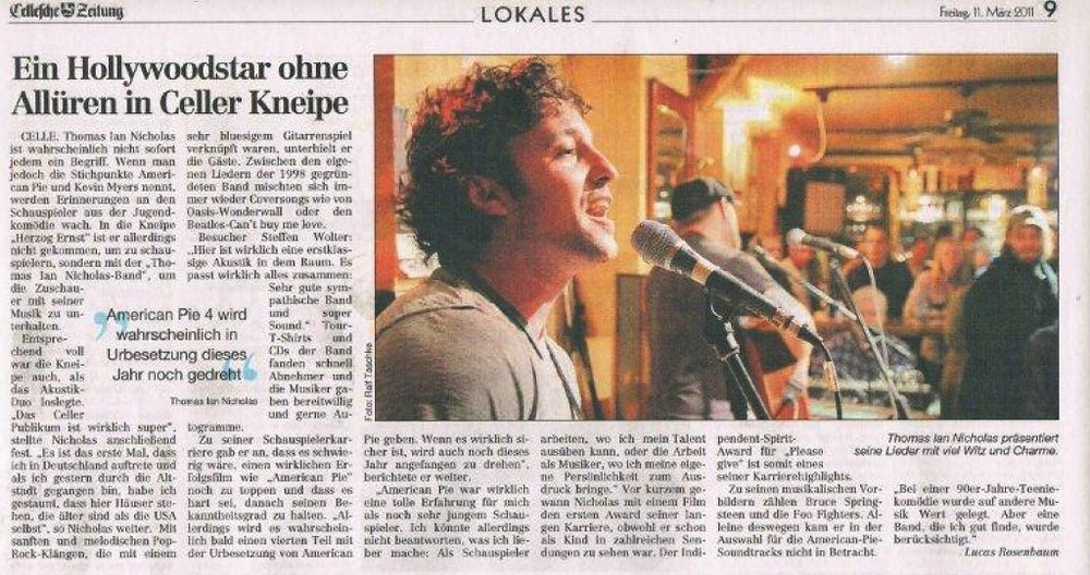 CELLE, GERMANY (NEWSPAPER)