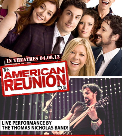 The American Reunion College Tour