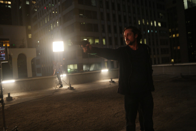 """on the set of """"ADVERSE"""""""