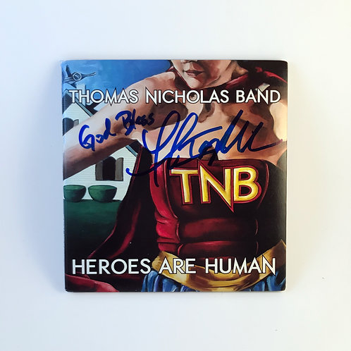Hereos Are Human (CD) - signed