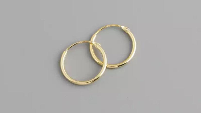 Mini aritos Gold