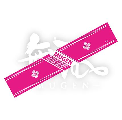 mugenマフラータオル(ピンク)
