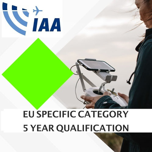 EU Specific Category -  5 Year Qualification