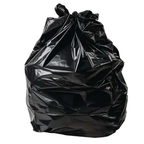 Heavy Duty Black Bin Bags 90L - pack of 200