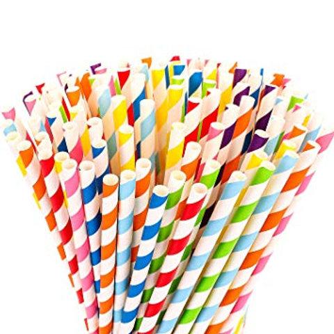 Paper Straws (250 straws) | VivaWaste