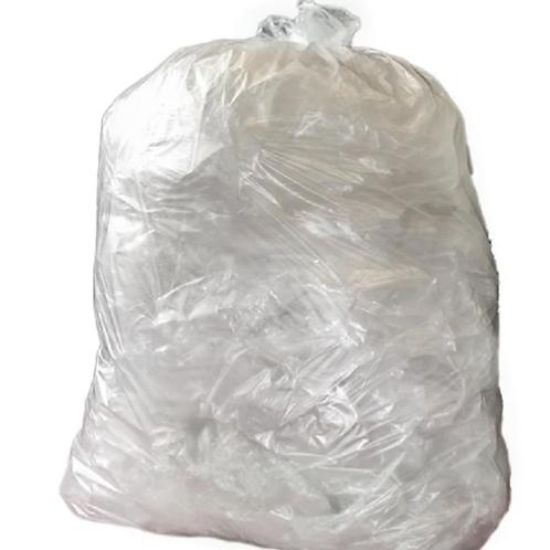 Medium Duty Clear Bin Bags 90L - pack of 200