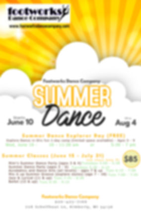 Copy of Summer Sun Party Flyer Template.