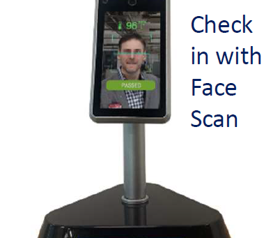 Introducing Face Scan Time Card System