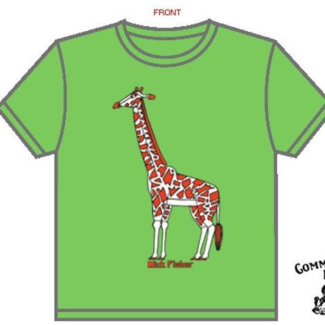Giraffe t-shirt Youth Sizes
