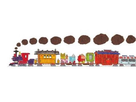 Circus Train Print