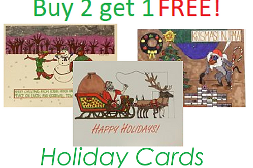 Buy 2 get 2 free holiday cards