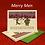 Thumbnail: Merry Men Holiday Cards