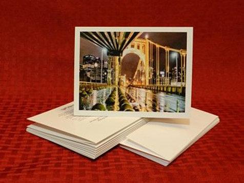 Roberto Clemente Bridge Note Cards