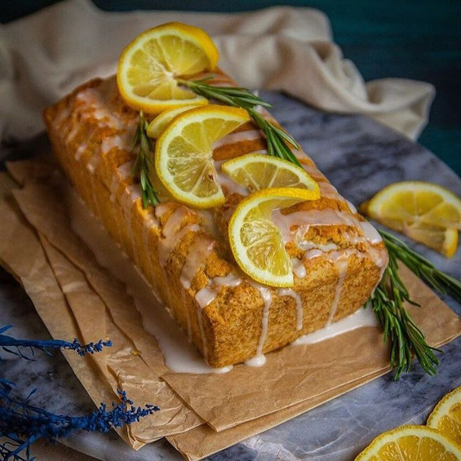 Weekend Special Recipe: My favourite cake the Lemon and Rosemary drizzle cake!