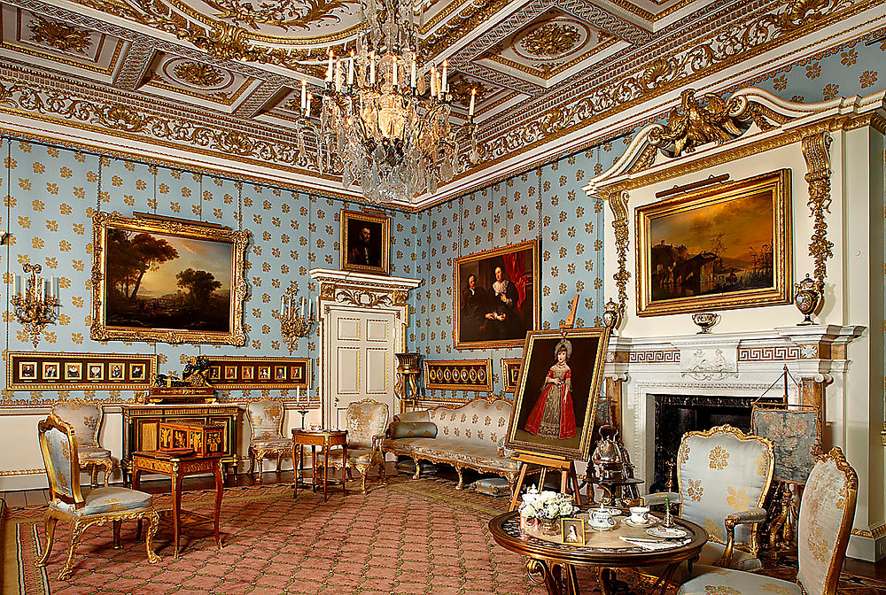 Blue Drawing Room, Woburn Abbey