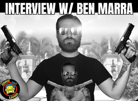 Interview with Outlaw Creator Benjamin Marra